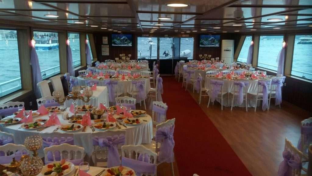 teknede mezuniyet yemegi