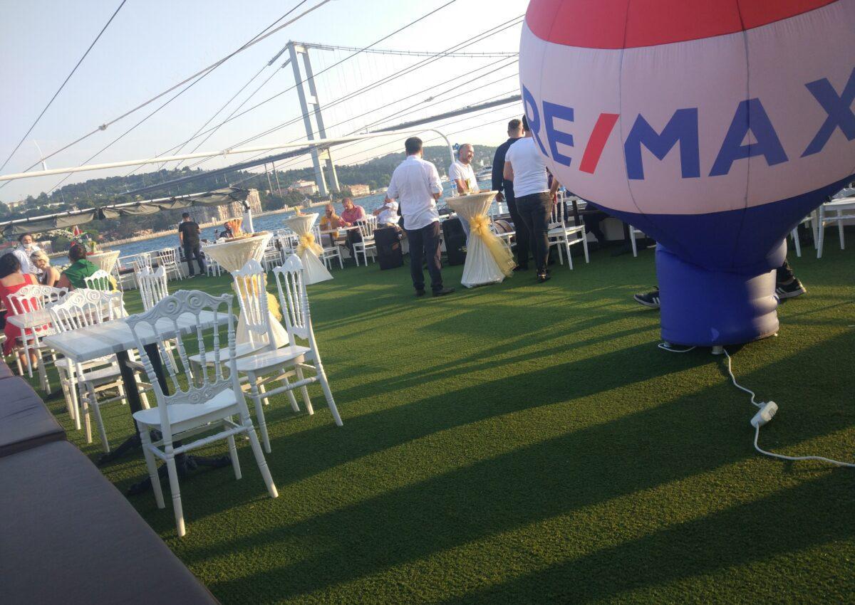 remax teknede şirket yemeği